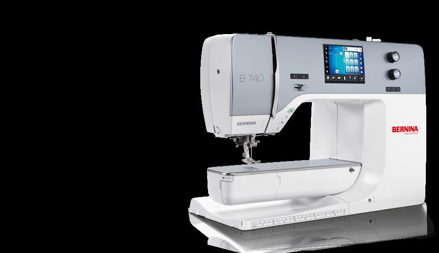 BERNINA Machine B740 Sewing Machine