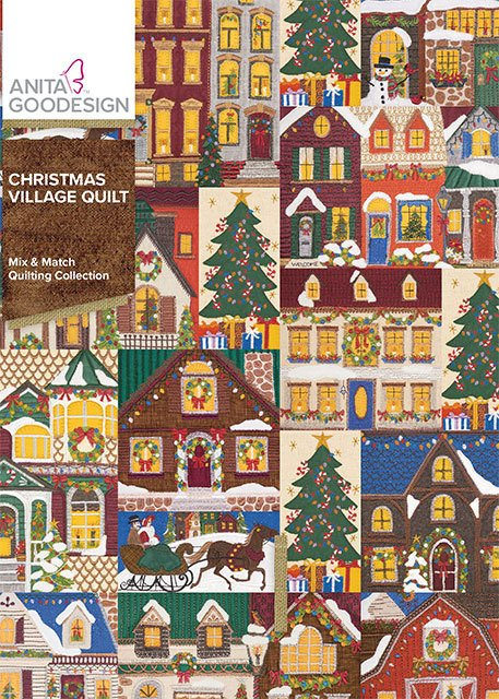 ANITA GOODESIGNS  Christmas Village Quilt