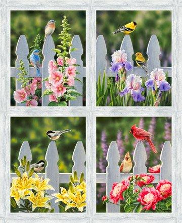 Morning Song - Bird Panel