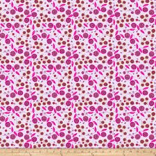 Free Spirit Fabric - Garden Dreams/Very Berry/Lavender