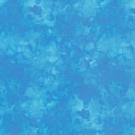 Quilter's Trek: Solid-ish Watercolor Texture - Aqua