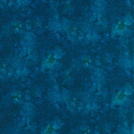 Quilter's Trek: Solid-ish Watercolor Texture - Azure