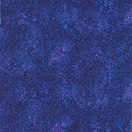 Quilter's Trek: Solid-ish Watercolor Texture - Royal
