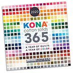 Kona Cotton Calendar