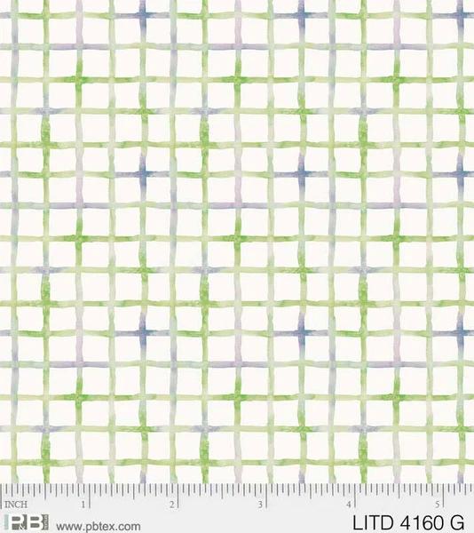 Little Darlings - Crosshatch Green