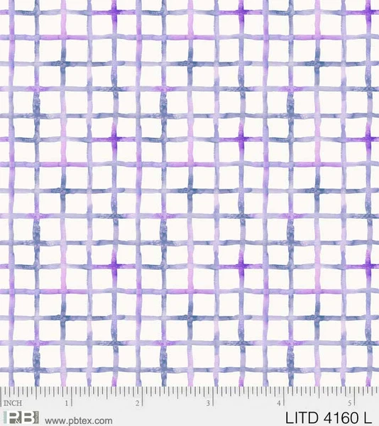 Little Darlings - Crosshatch Purple