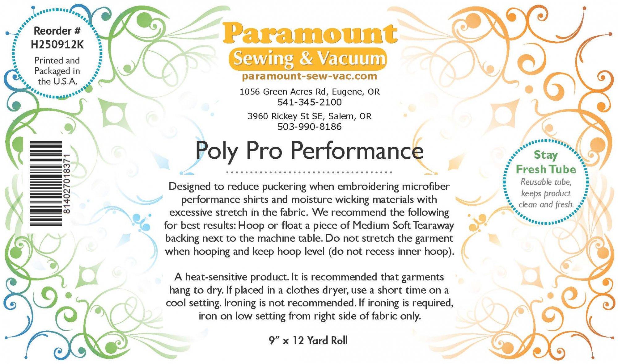 Paramount Stabilizer: PolyPro Performance