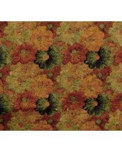Belagio - Printed Small Flower Metalic