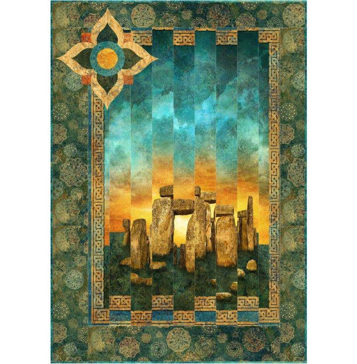 Stonehenge Solstice - Summer Solstice Pattern