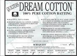 QUILTERS DREAM White Cotton Request  Light Loft Twin Size 93 x 72