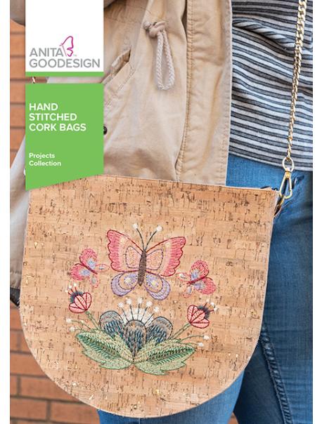 ANITA GOODESIGNS  Hand Stitched Cork Bags