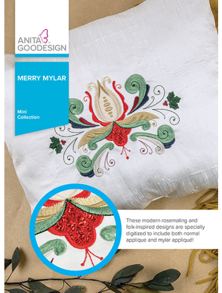 ANITA GOODESIGNS  Merry Mylar