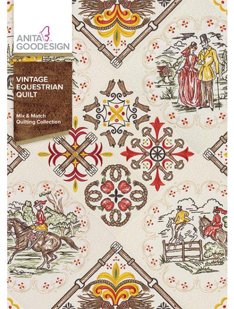 ANITA GOODESIGN  Vintage Equestrian Quilts