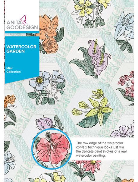 ANITA GOODESIGNS  Watercolor Garden