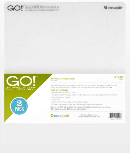 ACC GO! Cutting Mat - 10 x 10 2 Pack
