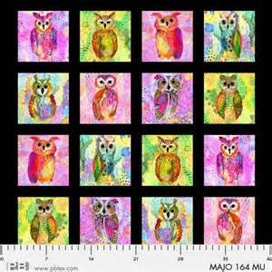 Majestic Owls - Owl Panel