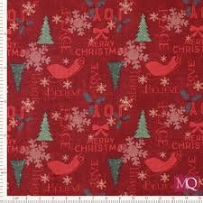 Home for Christmas - Dark Red Toss/Cotton
