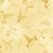 Hummingbirds - Lt. Yellow