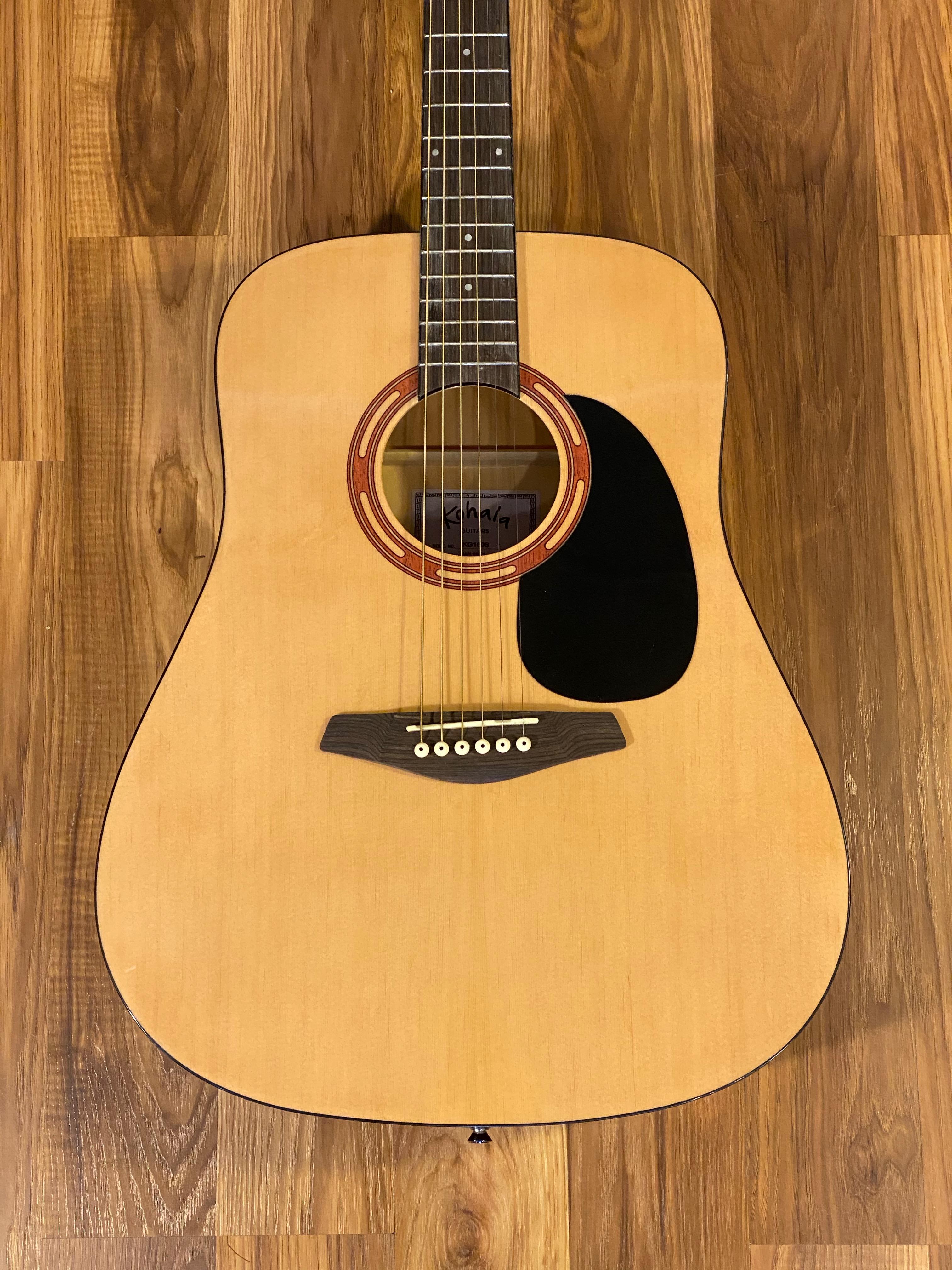 Kohala KD100S Acoustic Guitar/Gig bag Natural