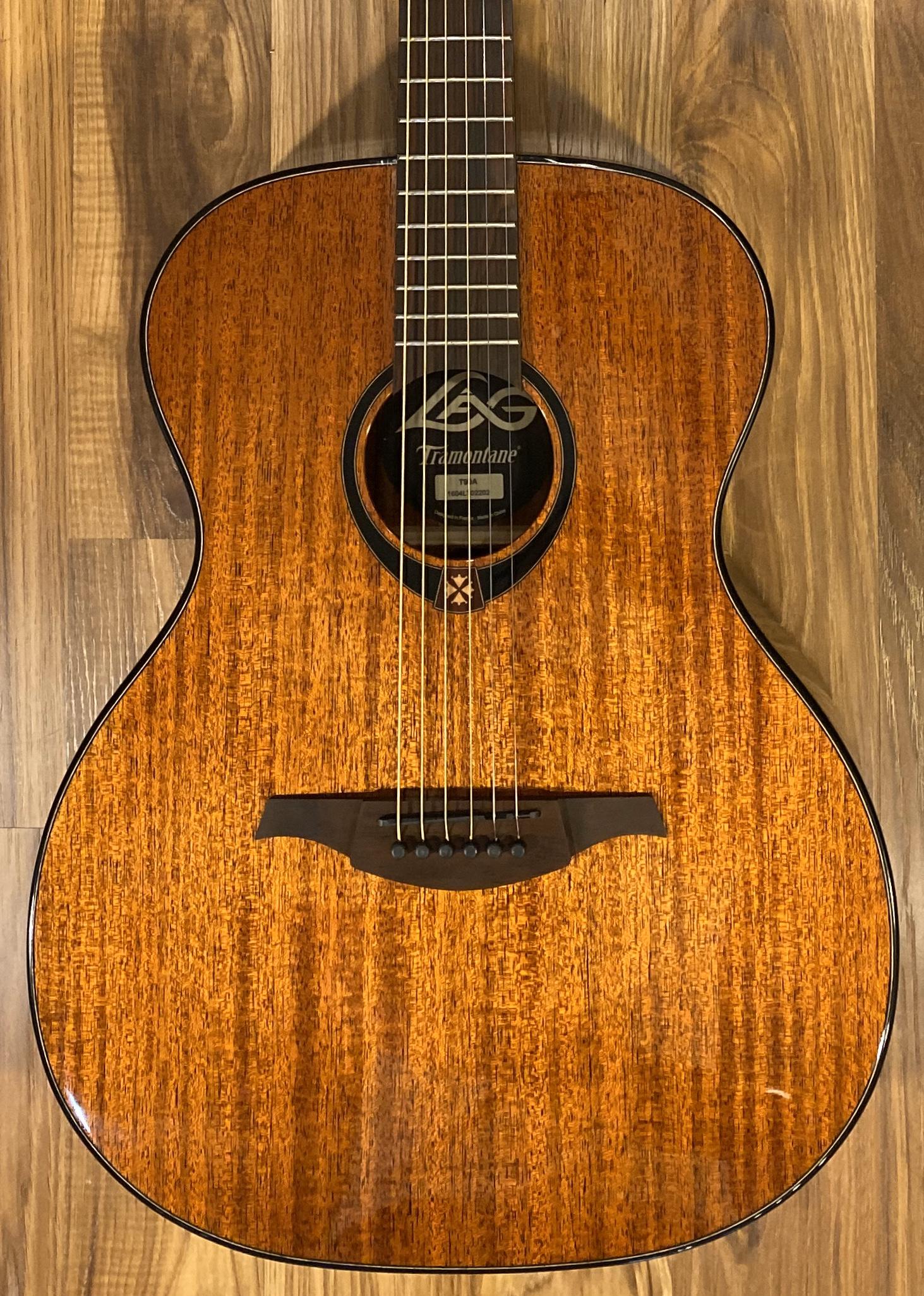 Lag T90A Auditorium Acoustic Guitar