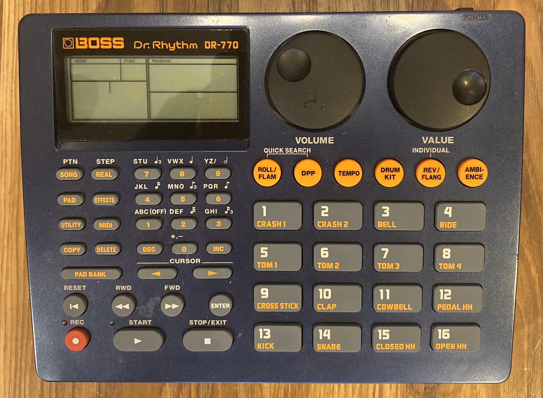 Boss DR-770 Dr Rhythm