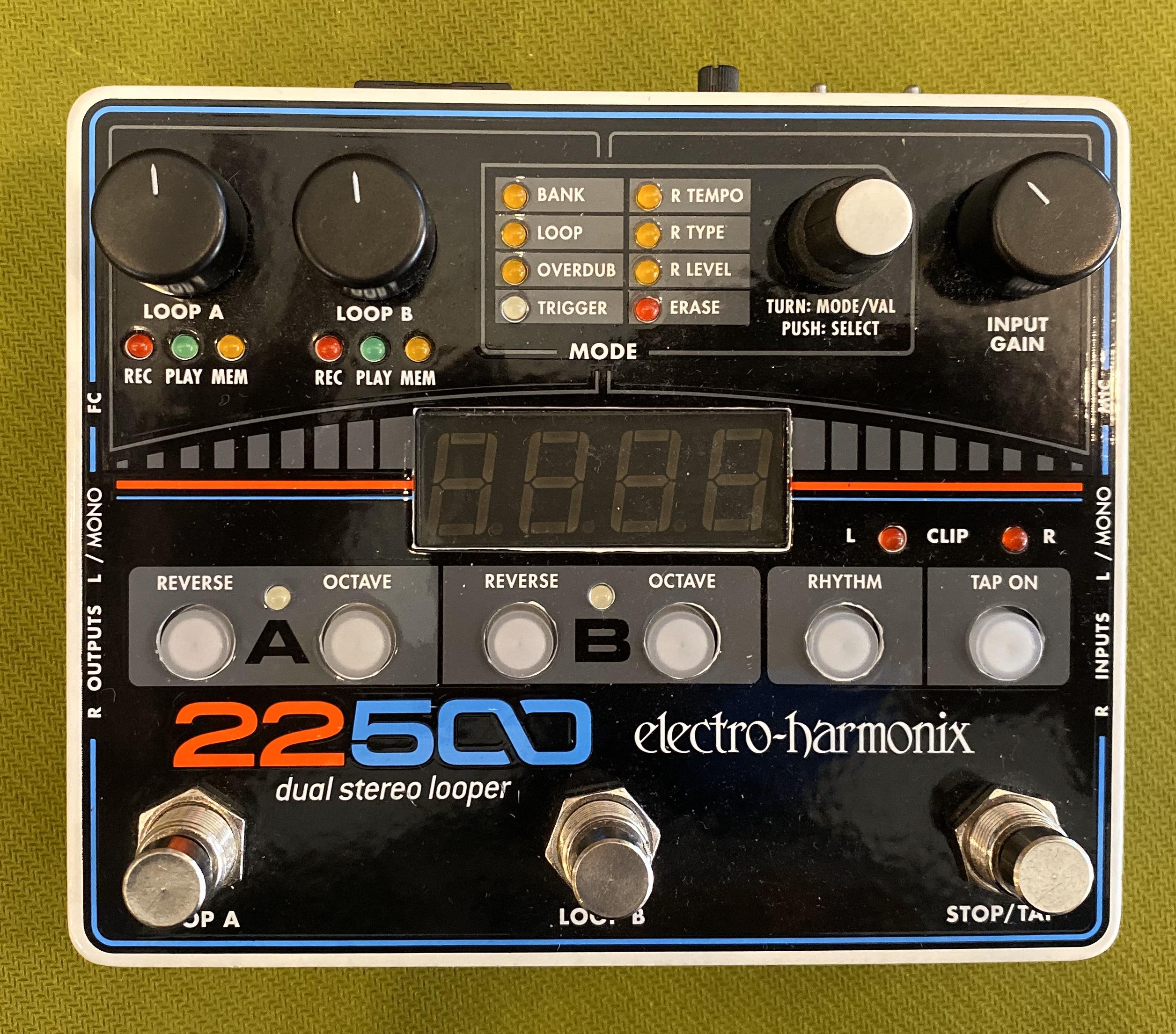 Electro-Harmonix 22500 Stereo Looper