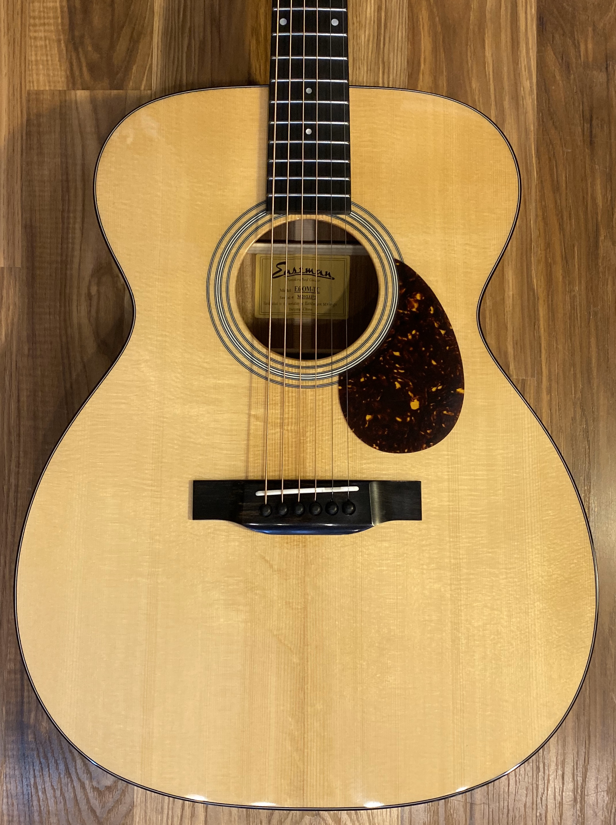 Eastman E6 OM-TC Natural Thermo Cured