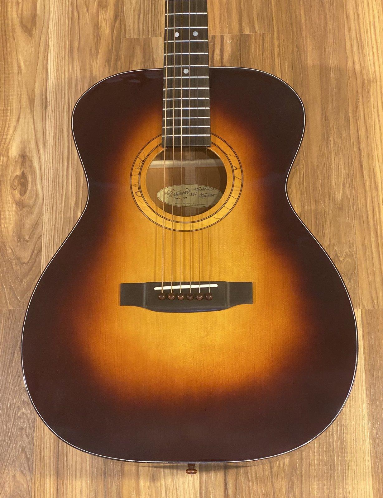Hawthorn 000 Acoustic Guitar Sitka/Mahogany Sunburst
