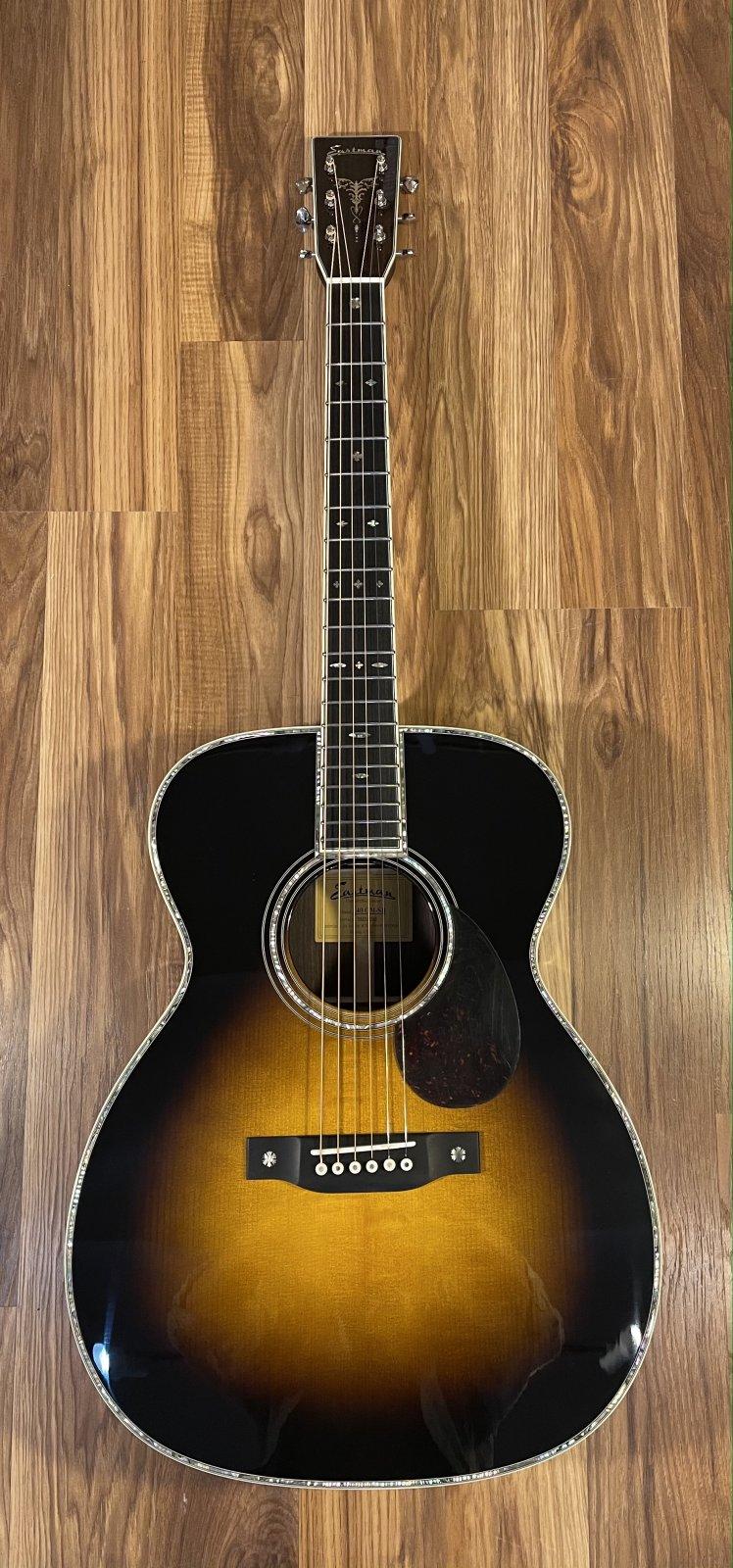 Eastman E40 OM-SB Acoustic Guitar
