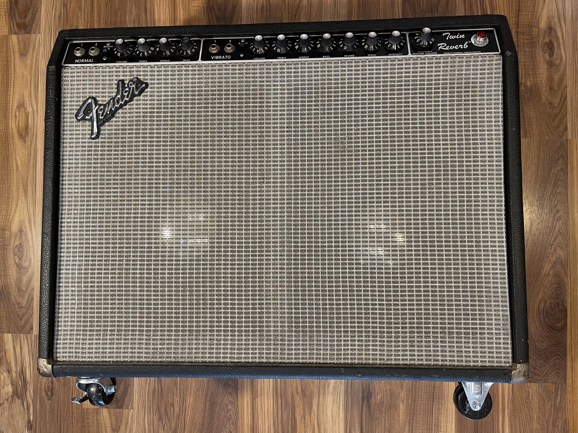 '81 Fender Twin Reverb with Weber speakers
