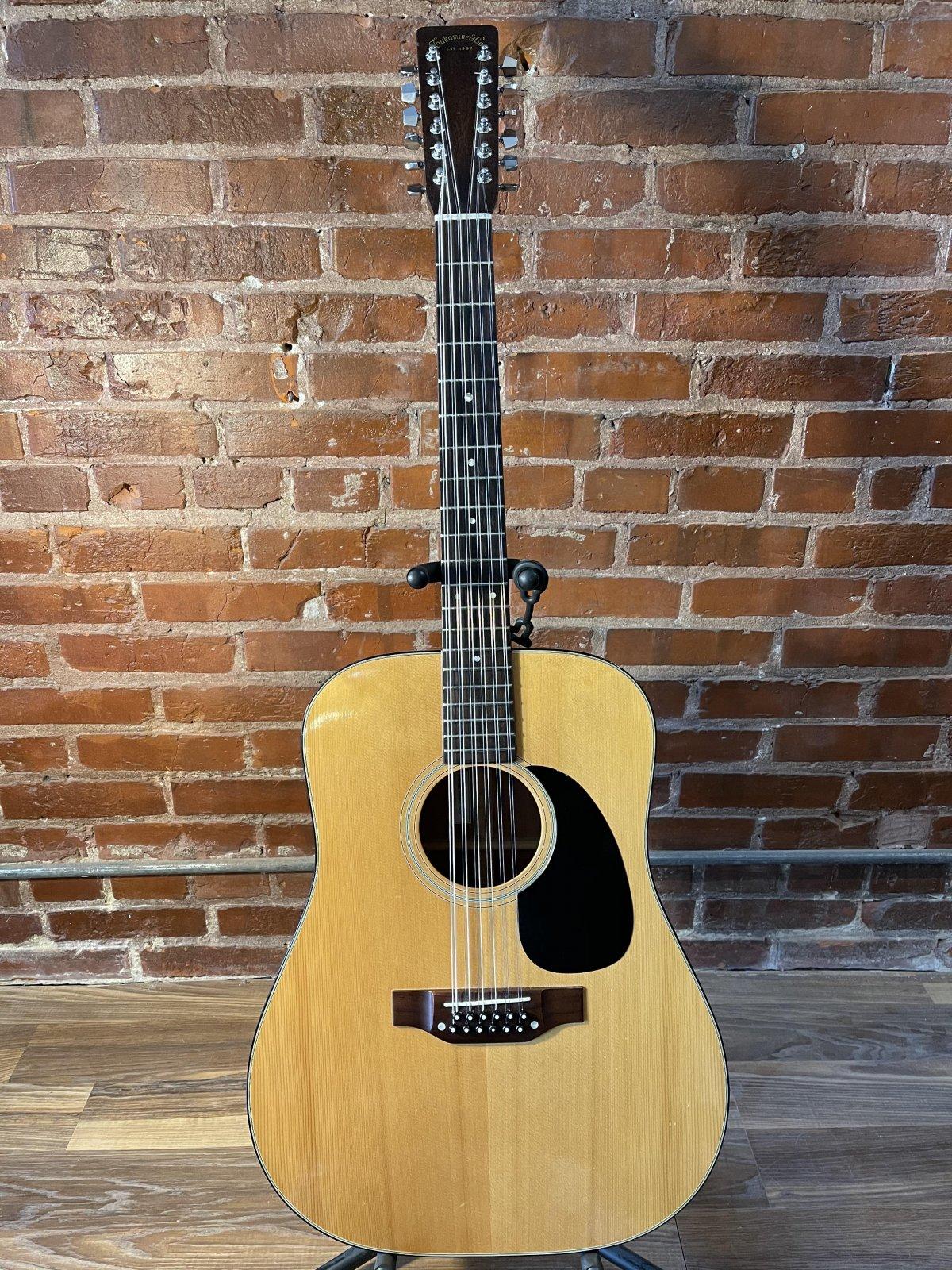 Takamine - F385 12-String Acoustic Guitar Circa 1978