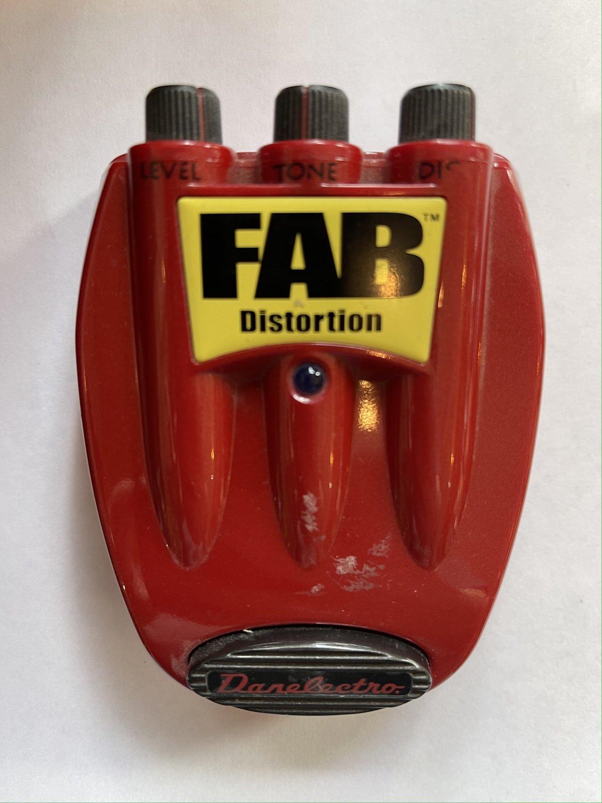 Danelectro FAB Distortion Pedal