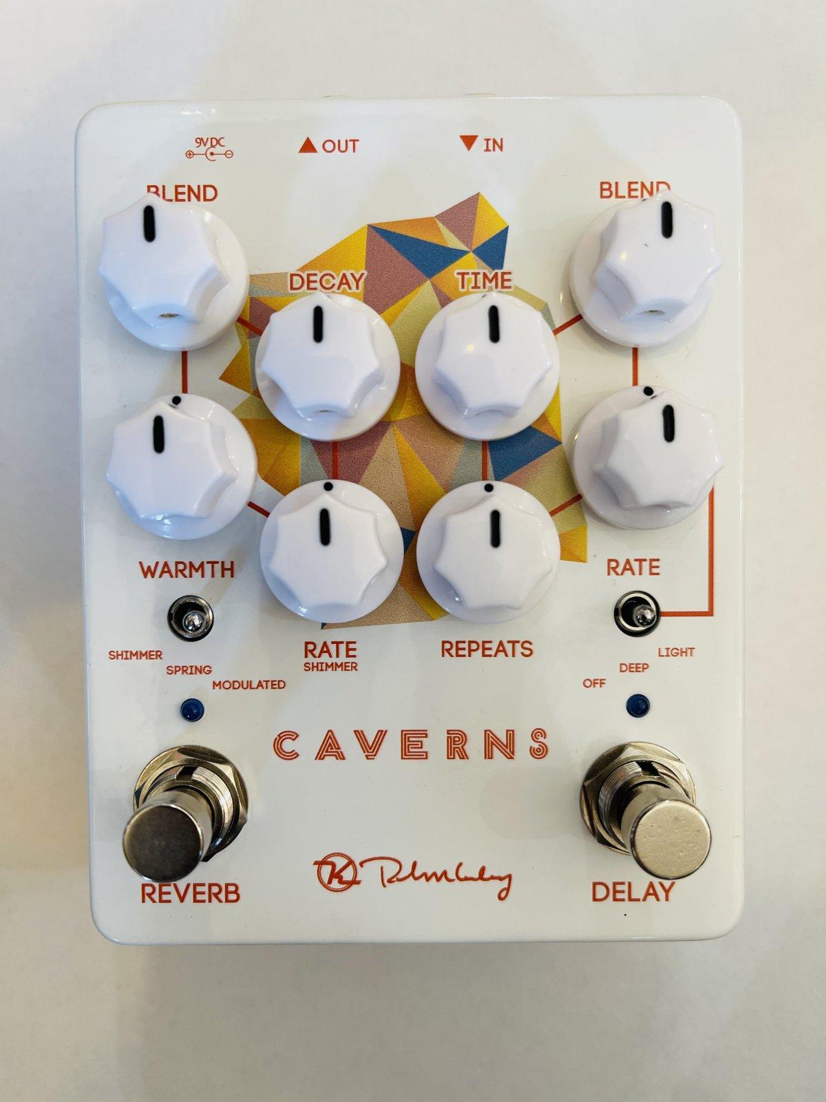 Keeley Electronics V2 Caverns Reverb/Delay Pedal NEW