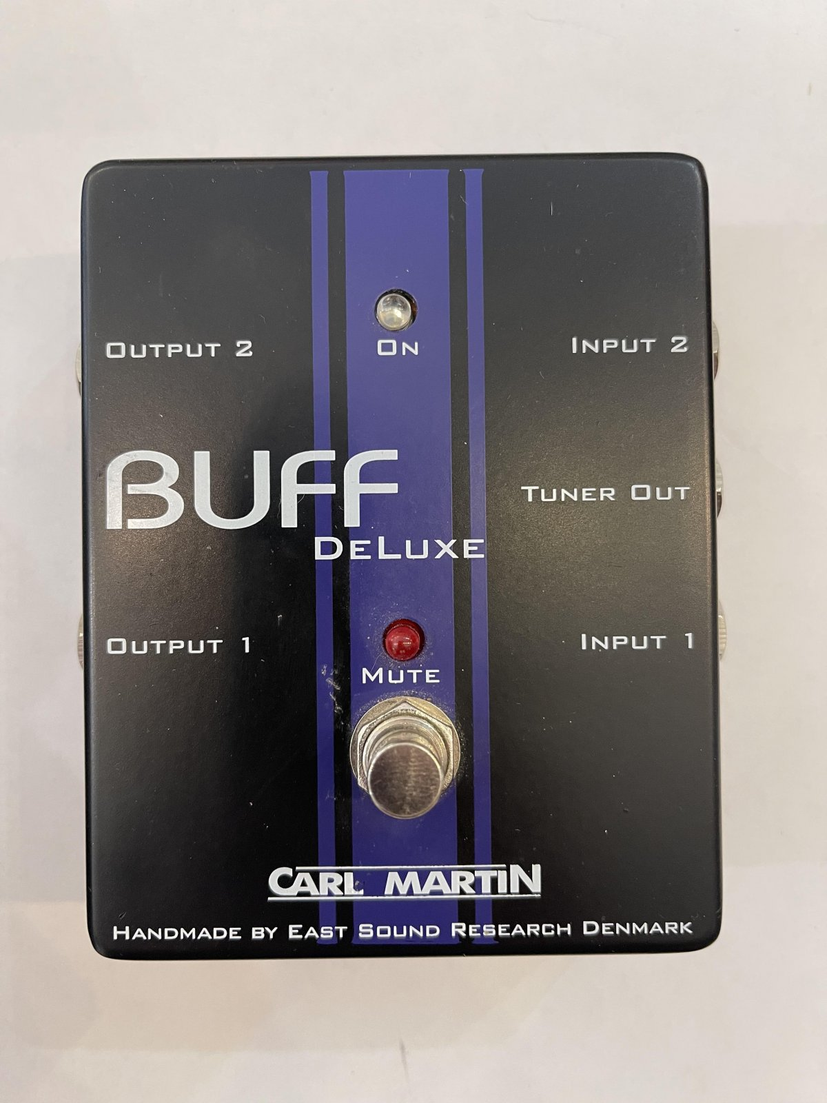 Carl Martin Buff Deluxe Pedal