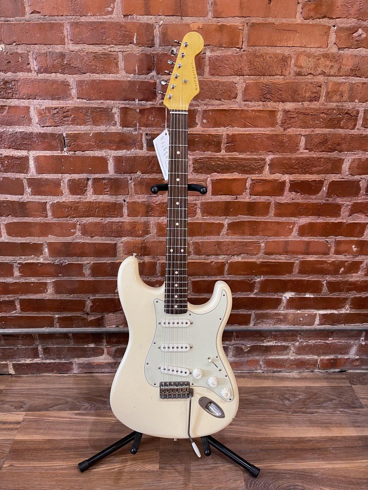 Nash Guitars S-63 Olympic White