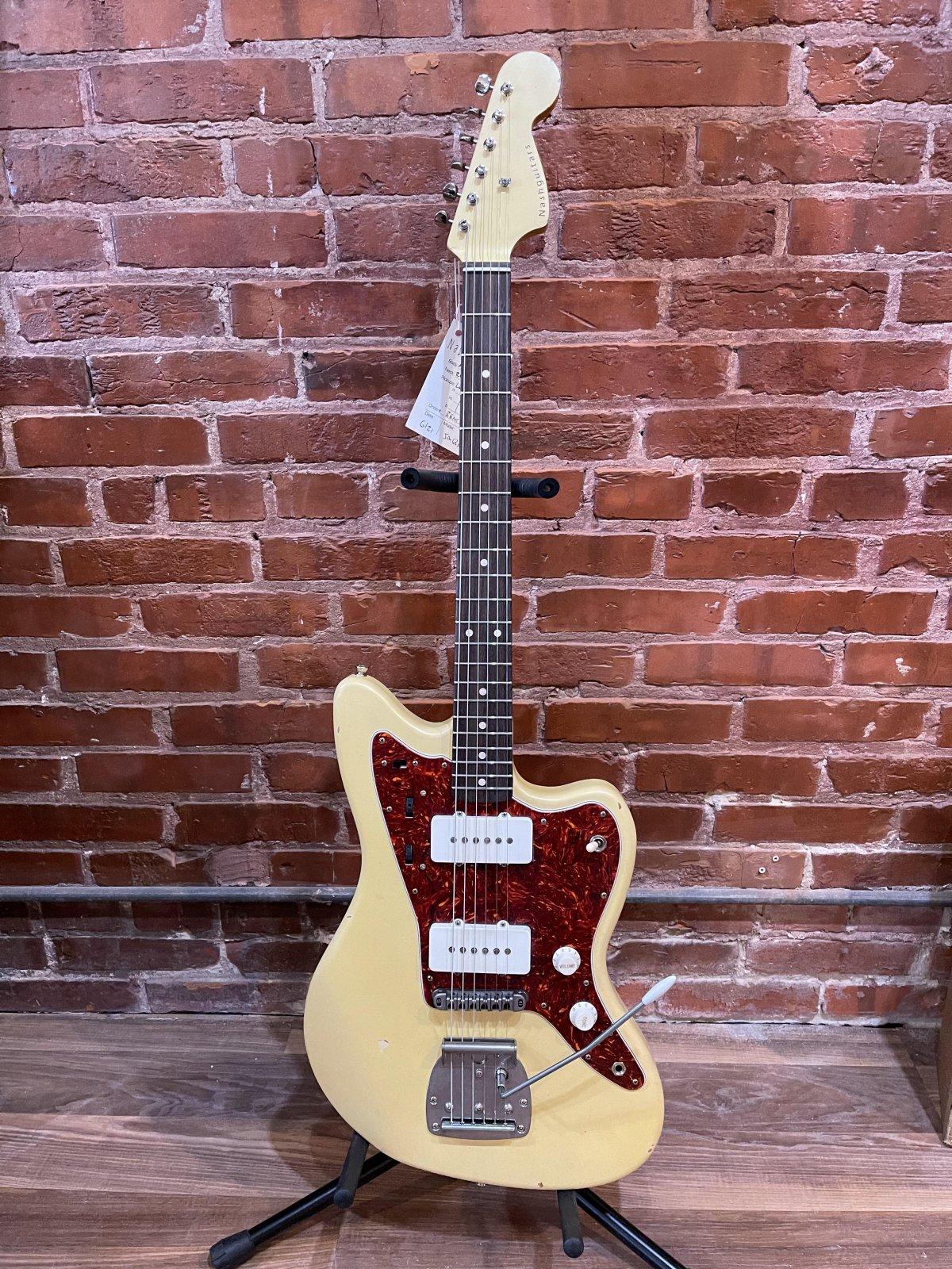 Nash Guitars JM63 Guitar Vintage White