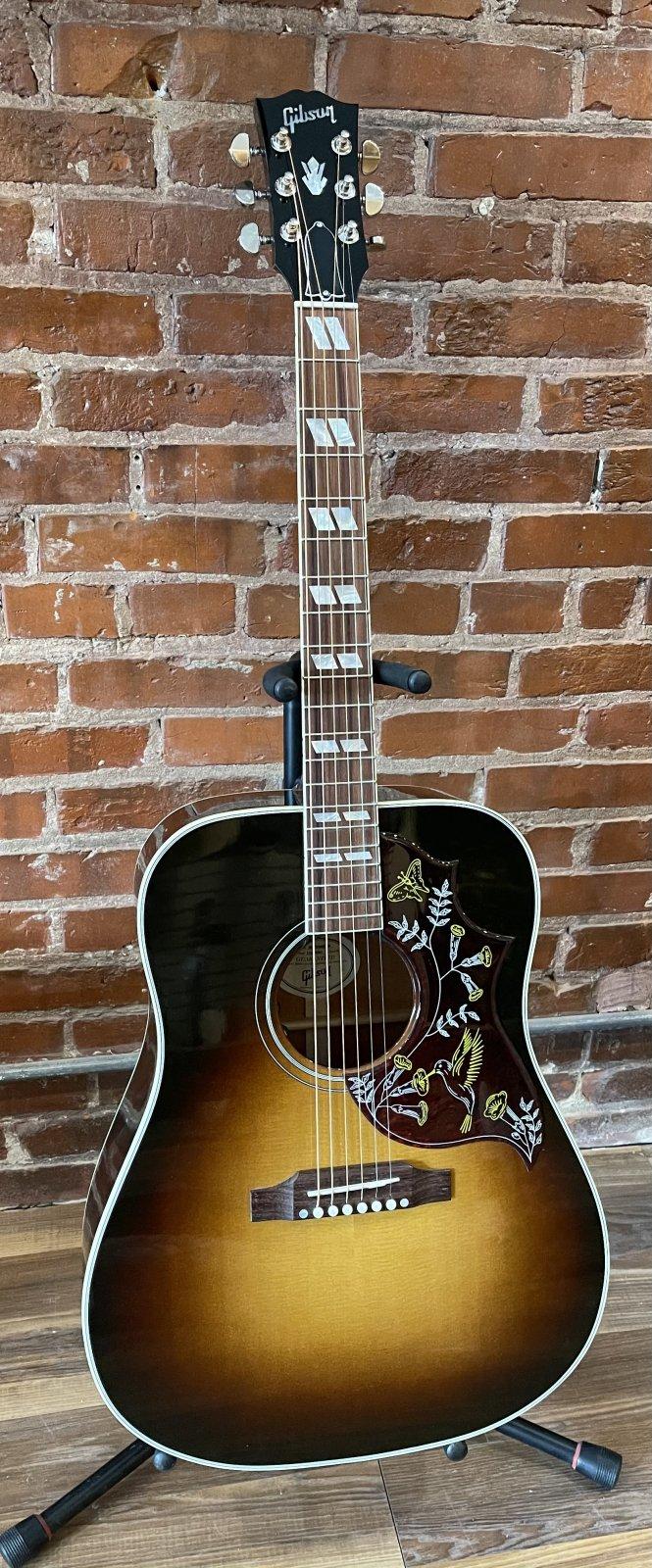 2019 Gibson Montana Hummingbird Standard Vintage Sunburst