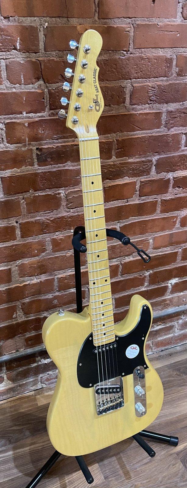 G&L Tribute Series ASAT Classic Butterscotch Blonde w/Gig Bag