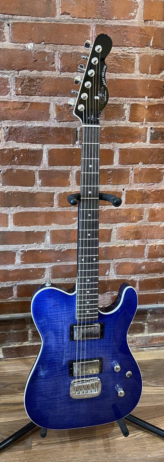 G&L Tribute Series ASAT Deluxe Blueburst