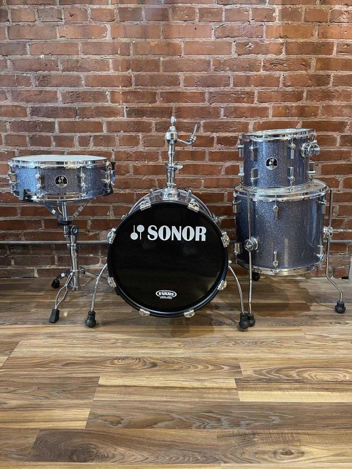 Sonor Safari SE Series Shell Pack - Blue Sparkle