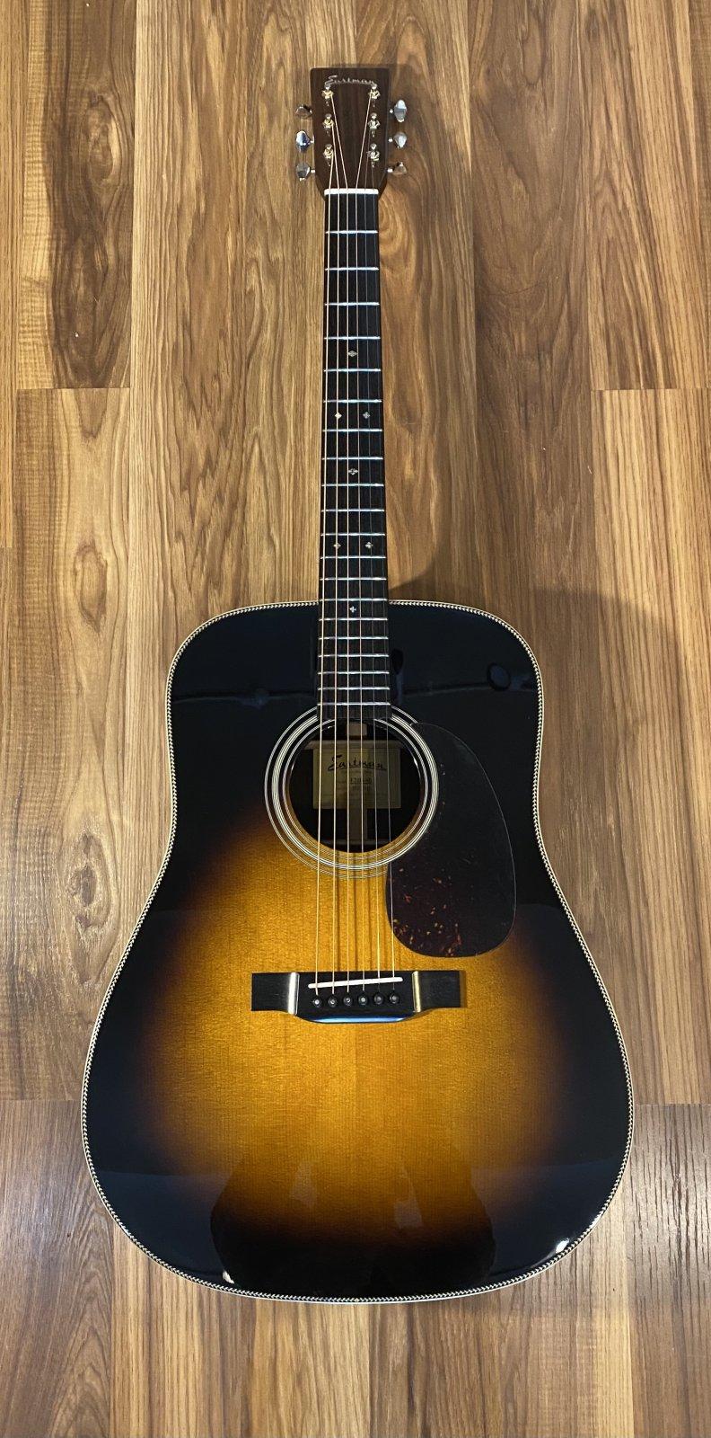 Eastman E20D SB Sunburst Dreadnaught Acoustic Guitar
