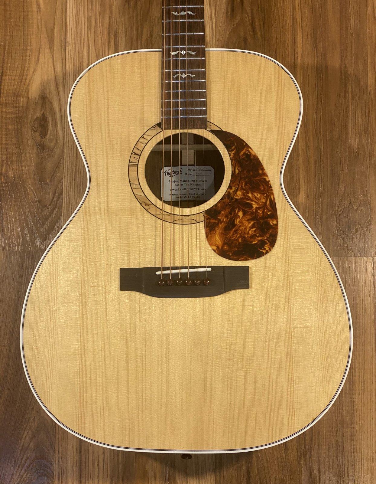 Hawthorn 000 Acoustic Guitar Adirondack Spruce/Indian Rosewood