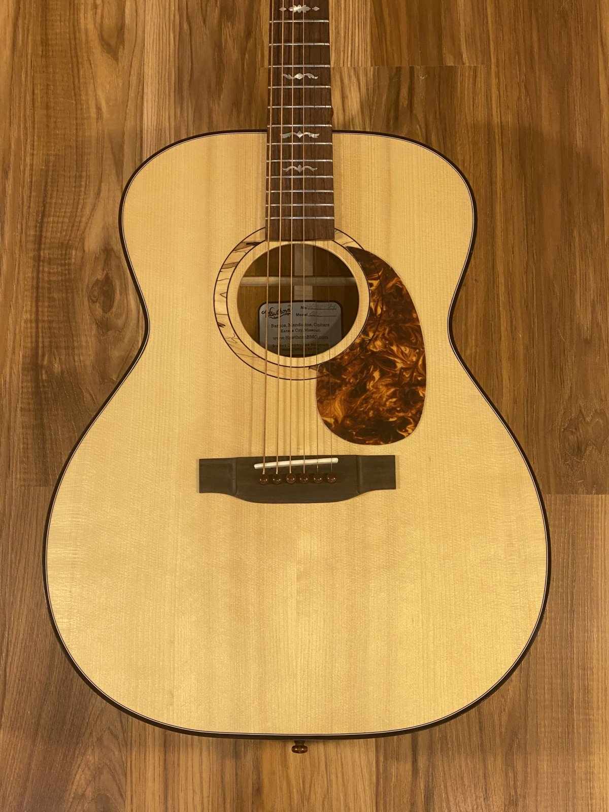 Hawthorn 000 Acoustic Guitar Adirondack/Mahogany