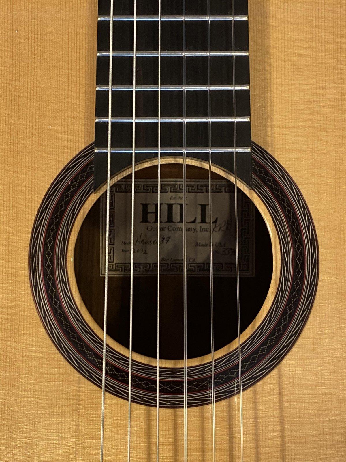 Hill Guitar Co. Hauser 37 2012