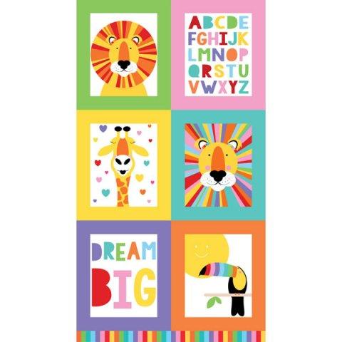 Devonstone Safari Alphabet Panel