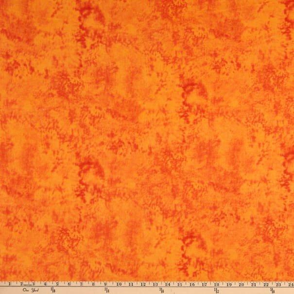 Mook Fabrics Marble Orange