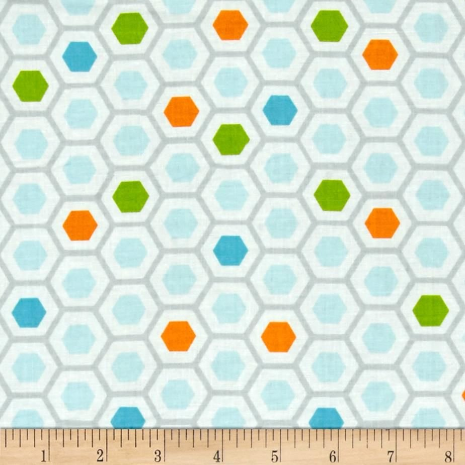 1 Meter Cut Moda Mixed Bag Sprouts 532865-12