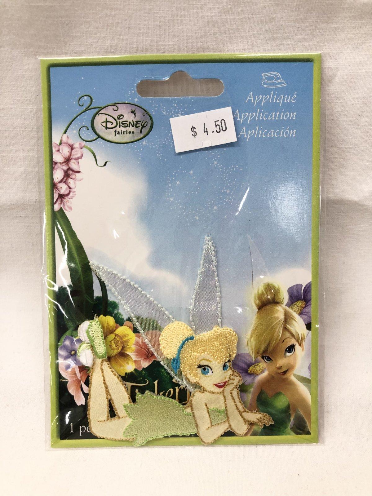 Disney Fairies Tinkerbell Applique Patch
