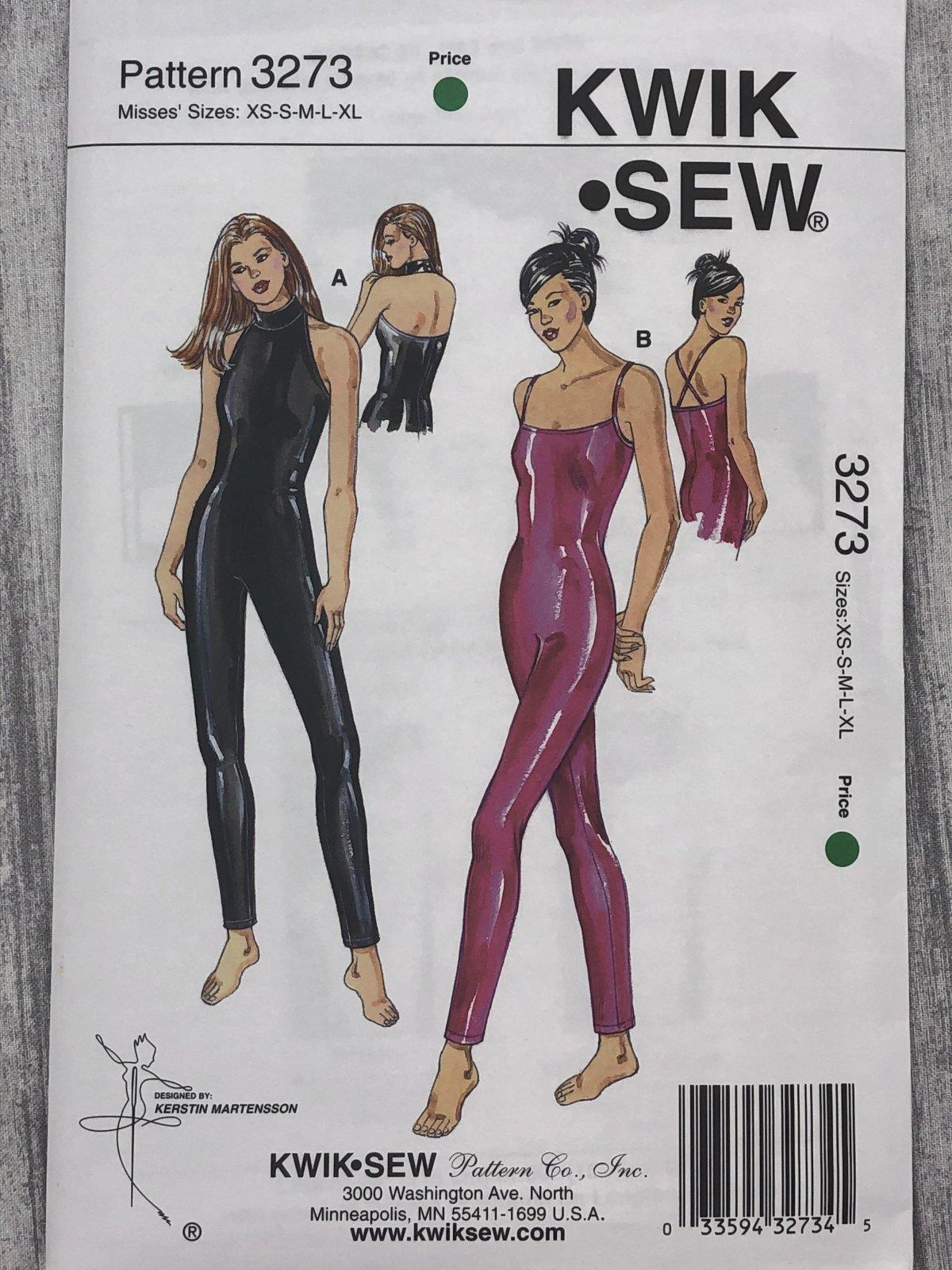 Kwik Sew 3273 Sizes XS-XL