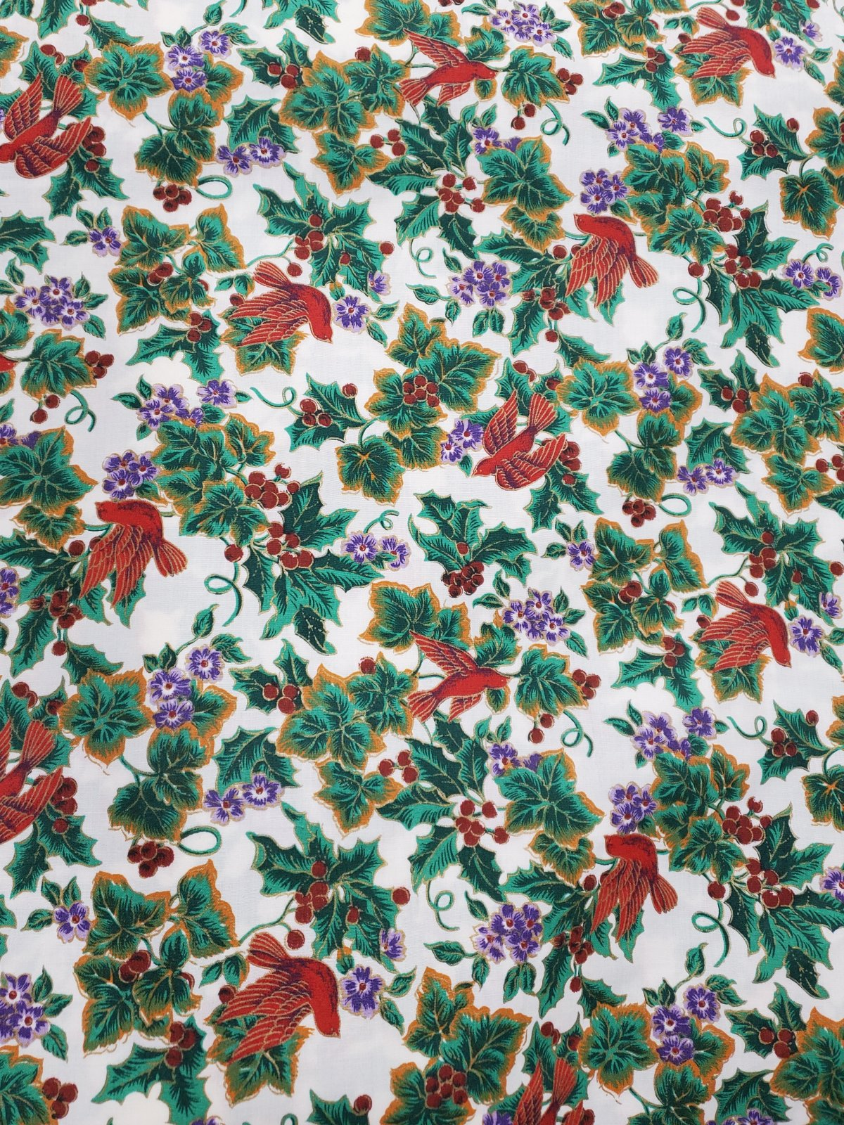 Christmas Mettallie 65%Polyester/35%Cotton 2581/1 20003005